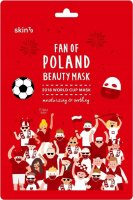 Skin79 - FAN OF POLAND BEAUTY MASK - Moisturizing and soothing face mask in a patch for a real football fan - 2018 WORLD CUP MASK - 25 ml