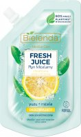 Bielenda - Micellar Care - Fresh Juice - Refreshing micellar fluid for gray and tired skin - Yuzu - INSERT - 45 ml