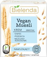 Bielenda - Vegan Muesli Cream - Moisturizing face cream - Day / Night - 50 ml