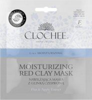 CLOCHEE - Moisturizing Red Clay Mask - Moisturizing mask with red clay - 2x6 ml