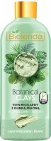 Bielenda - Botanical Clays - Vegan Micellar Liquid - Cleansing micellar fluid with green clay - Mixed and oily skin - 500 ml
