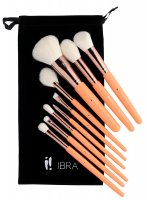 Ibra - Fresh Collection - A set of 9 brushes in a sachet