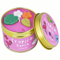 Bomb Cosmetics - Tropical Punch Tinned Candle - Hand-made scented candle with essential oils - TROPIKI