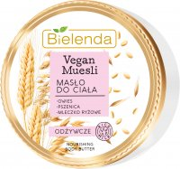 Bielenda - Vegan Muesli - Nourishing Body Butter - Nourishing, vegan body butter - 250 ml