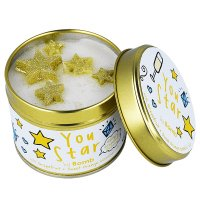 Bomb Cosmetics - You Star Tinned Candle - Hand-made scented candle with essential oils - STARS