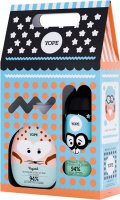 YOPE - Gift set for children - Hand soap Calendula 400 ml + Shower gel Chamomile and Nettle 400 ml