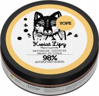 YOPE - NATURAL, NUTRITIONAL BODY BUTTER - Lipy flower - 200 ml
