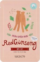 Skin79 - FRESH GARDEN MASK - Patch face mask - Red Ginseng