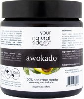 Your Natural Side - 100% Natural Avocado Butter - 100 ml